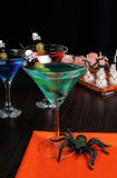 Drink on Halloween Royalty Free Stock Images