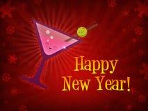 drink happy new year Στοκ Φωτογραφίες