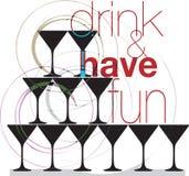 Drink & have fun. Stock Photos