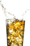 Drink with ice Royalty Free Stock Photography