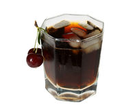 Drink with ice Stock Images