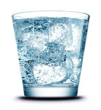 Drink with ice close-up Royalty Free Stock Images
