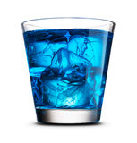 Drink with ice close-up Royalty Free Stock Image