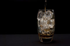 Drink with ice Stock Photos