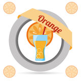 Drink icon design Royalty Free Stock Images