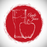 Drink icon design Stock Images