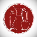 Drink icon design Royalty Free Stock Photos