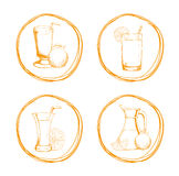 Drink icon design Stock Photo
