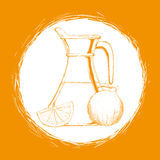 Drink icon design Royalty Free Stock Photography