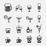 Drink icon Royalty Free Stock Image