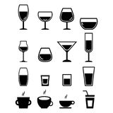 Drink Icon Stock Photos