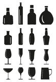 Drink Icons Set stock images