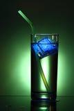 Drink with illuminated ice Stock Photos