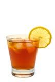 drink isolerad citronsoft royaltyfri bild