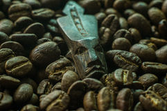 The drink of Kings. An abstract about the value of coffee in society Stock Photo