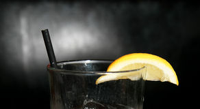 Drink with Lemon Royalty Free Stock Photos