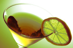 Drink with Lemon Stock Images