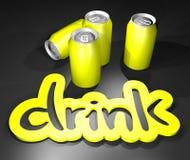 Drink lemon Stock Photography