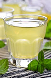 Drink of lemon Stock Photos