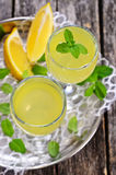 Drink of lemon Royalty Free Stock Images