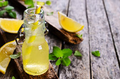 Drink of lemon Stock Image