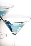 Drink in martini glass - close-up Royalty Free Stock Photo