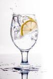 Drink med is Royaltyfri Foto