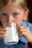 Drink melk! Royalty-vrije Stock Foto