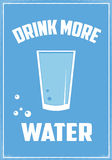 Drink More Water Stock Images
