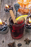 Drink mulled wine Royalty Free Stock Photo
