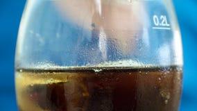 Drink och is Arkivfoto