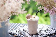 Drink och glass arkivbild