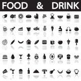 Drink och mat Royaltyfria Bilder