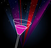 Drink poster vector Royalty Free Stock Photography