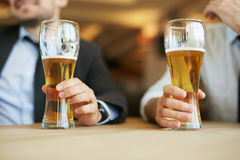 Drink for real men Stock Photos