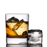 Drink on the rocks Royalty Free Stock Photo