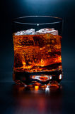 Drink on the rocks Stock Image