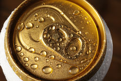 Drink`s tin Royalty Free Stock Photography