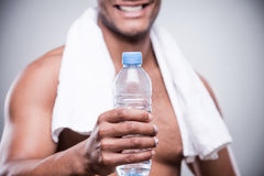 Drink some water! Royalty Free Stock Image
