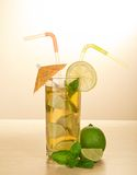 Drink with a straw Stock Photography