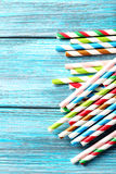 Drink straws Royalty Free Stock Image