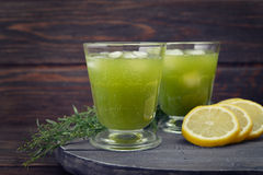 Drink with tarragon Royalty Free Stock Images