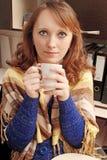 Drink tea Stock Image