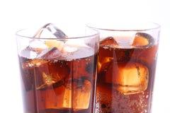 drink två Fotografering för Bildbyråer
