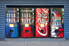 Drink Vending Machines Stock Photo