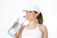 Drink water Royalty Free Stock Photo