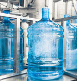 Drink water production line Royalty Free Stock Photos