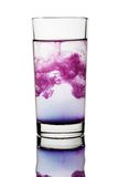 Drink waterglas stock fotografie