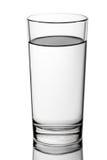 Drink waterglas Royalty-vrije Stock Afbeelding