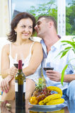 Drink and whisper Royalty Free Stock Image